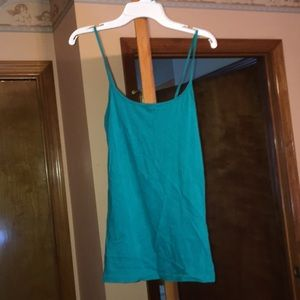 Tops - 3 for $12 teal tank top